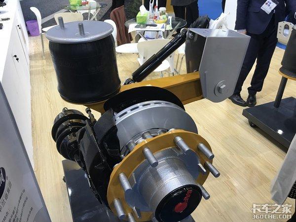 电驱动、小圆轴、盘刹赛夫华兰德多款产品亮相上海法兰克福汽配展