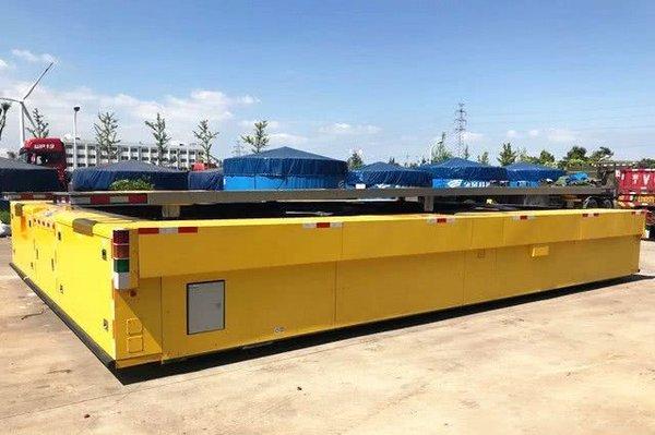 国内最大载重200吨物流机器人长沙上线