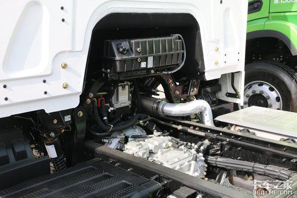 气囊悬挂+全车盘刹这辆载货车逆天了!