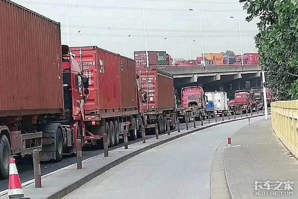 在上海开集装箱卡车不想堵车,这些办法你用过吗?