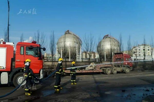 """张家口""""11・28""""爆燃事故发生后仍在排队等候卸货的司机有话要说"""