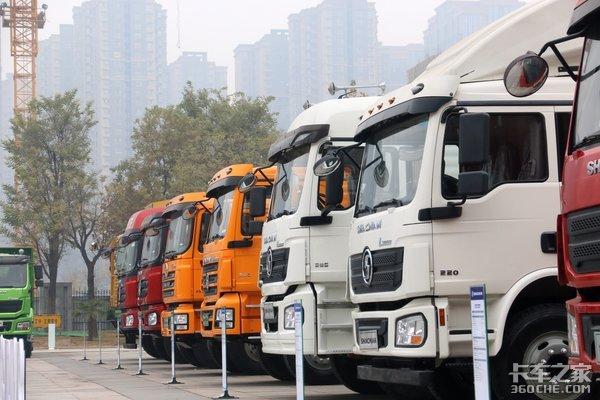 出口车居然是这些配置2019陕汽国际商务年会展车抢先看