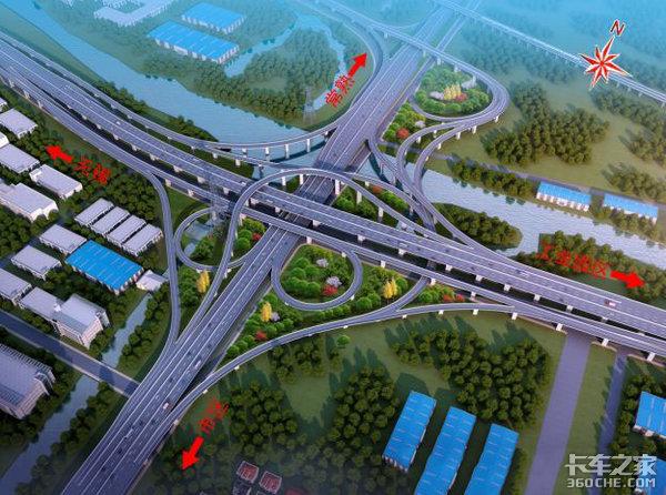 卡友注意绕行苏州这条路禁止货车通行,截止到2020年底
