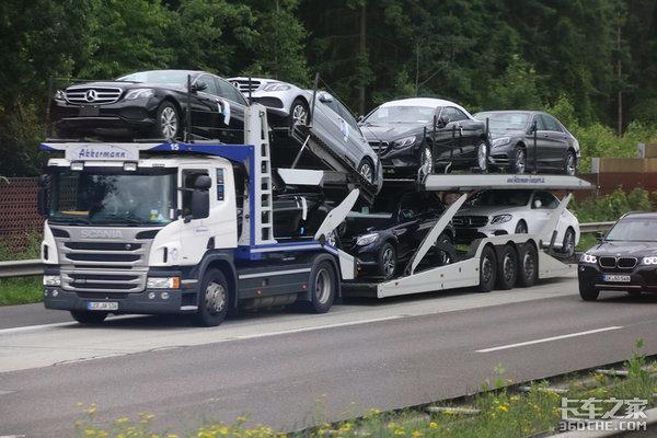 同样限长限高为啥欧洲轿运车能装更多?