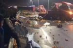 二广高速益阳段22车相撞 已致5死18伤