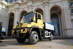 全新奔驰乌尼莫克打造全能机具承载车