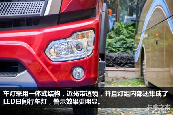 中短途配送'利器'福田瑞沃ES5中卡图解,8挡185马力