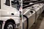 解放J7 8X4载货车曝光 单车也有高配置