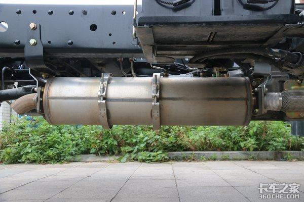 不烧尿素4万公里长换油解放虎VN轻卡也装4DB1发动机了