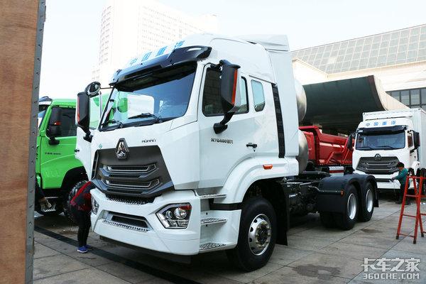 国六天然气发动机+1800L气瓶+2300公里续航豪瀚N7G来了!