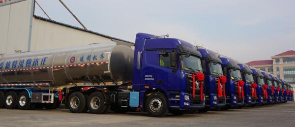 助力危化运输升级欧曼再写山东危化安全运输新篇章