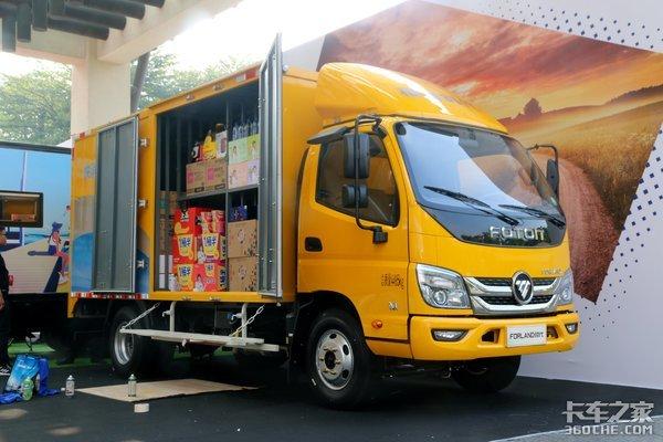 快消品配送用什么车合适?福田时代这款定制车能给你答案!