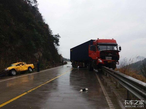 卡车事故猛如虎,遇到危险时这些自救措施非常奏效
