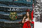喜迎圣诞 圣诞老人座驾升级格尔发A5