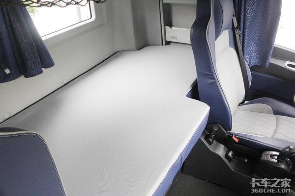 510马力+自动挡实拍2019款高配欧曼EST