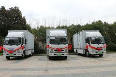 引领城配运输新时代 跃进新能源车亮相