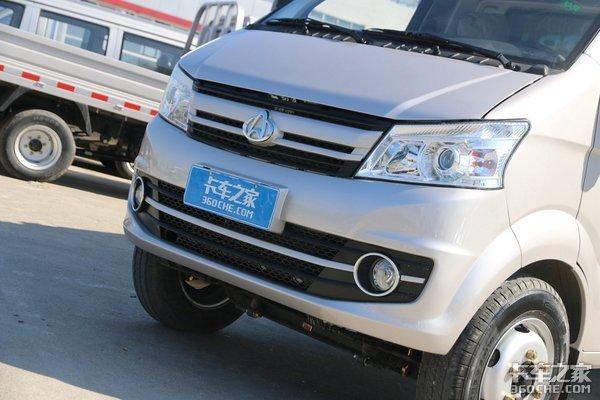 高承载还有3米6大货箱升级后的长安跨越王X5小卡配置真高!