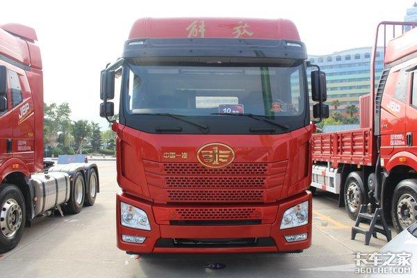 自重8.2吨还能多拉4.75立方货!解放JH68x4低底盘载货车了解一下?