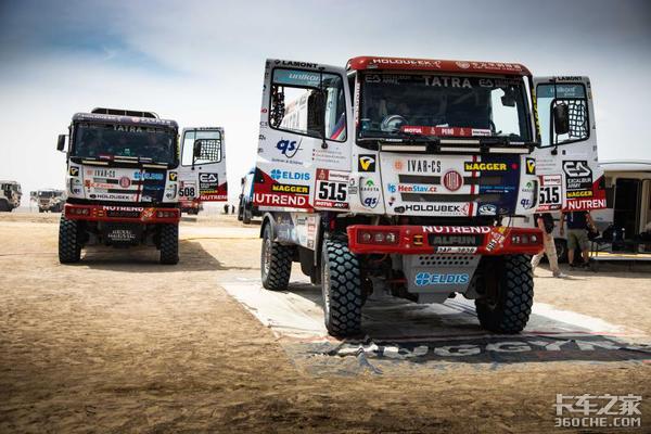 零公里润滑车队携重量卡车再度亮相达喀尔