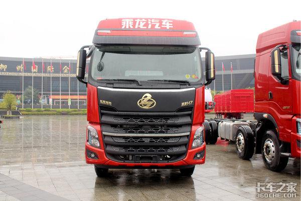 8大明显升级!乘龙H72019款6x2载货车