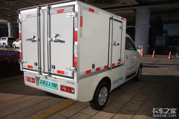 充电1小时续航200公里!一汽红塔EV100电动小厢货城配好帮手