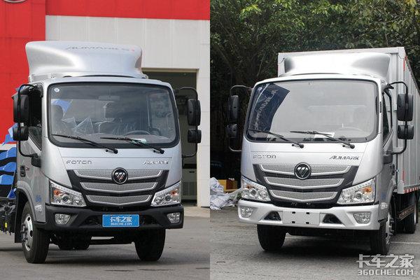 福田标载新轻卡:欧马可S1装2.8康机,可选ZF变速箱