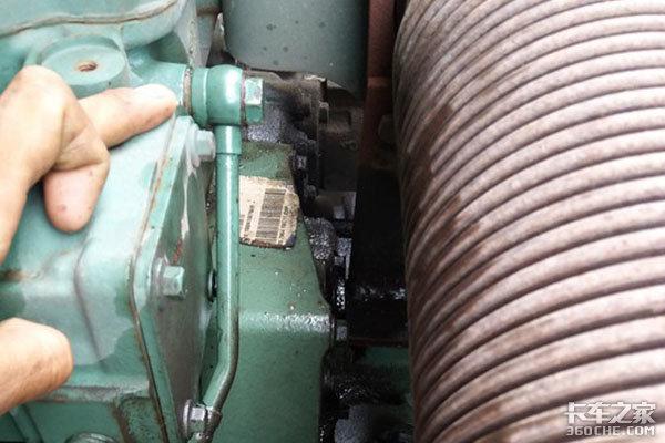 卡车发动机轨压低故障,该怎么查?