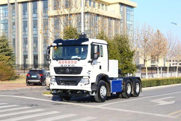 重汽:全球首台L4级无人驾驶电动卡车!