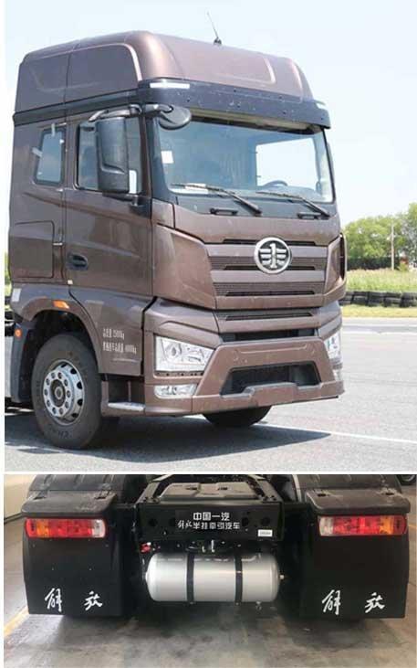 解放J74x2国六新车型亮相最大可达560马力!