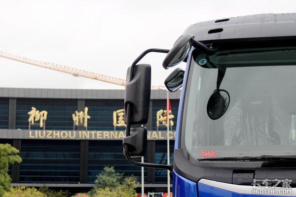 单飞卡友也有大空间图解乘龙H5载货车