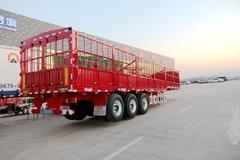 仓栅车自重5.55吨? 原来只用一片板簧