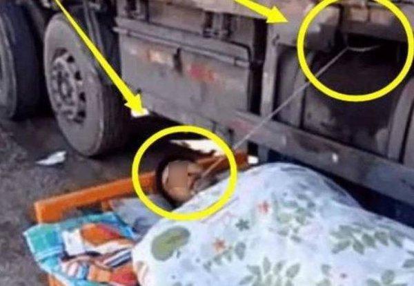 大货车司机中途休息,嘴里还得一直咬着绳子,原因既心酸又无奈!
