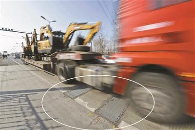卡友注意!北京超限检测设备上岗,非现场执法也能查超载