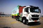 中国重汽无人驾驶集卡投入天津港运营