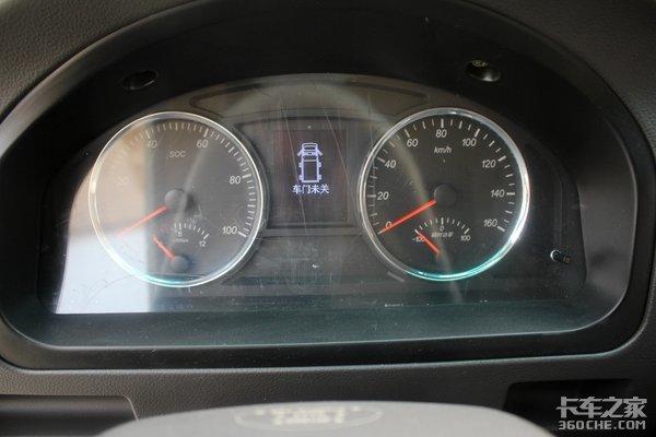 续航200公里+按键换挡(AMT)!奥驰A2纯电动来袭