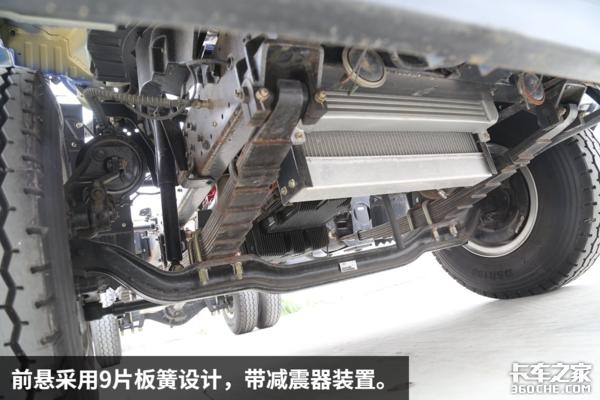 康机动力+重载底盘开瑞绿卡不仅能装而且动力强劲!