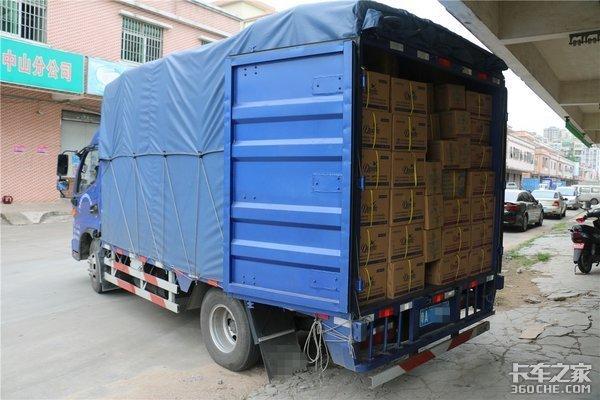不装货已经超载4.5吨蓝牌轻卡难破局