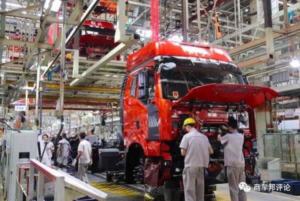 一汽解放:今年7月全系发动机全部满足国六B排放标准