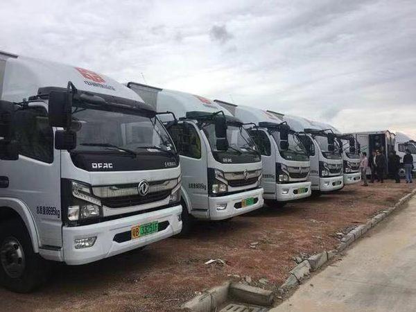 600台深圳牌氢燃料电池物流车即将投放单次续航可达320km