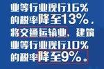 【物流八卦】铁路运价降低、物流业降税