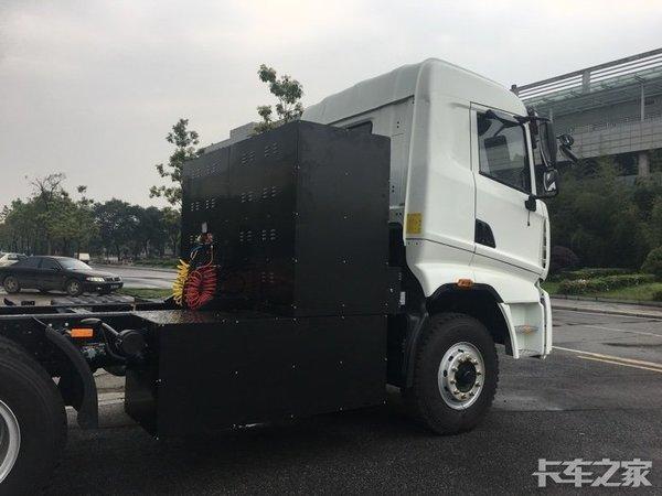 新能源纯电动重卡生产基地落户沧州渤海新区