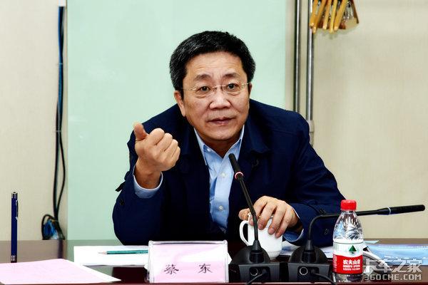中国重汽集团总经理蔡东访问法士特深入沟通交流