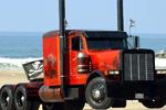 美国很多卡车都是长头 国内多是平头?