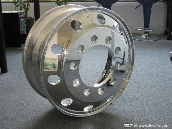 铝合金轮圈散热快自重轻司机看不上?