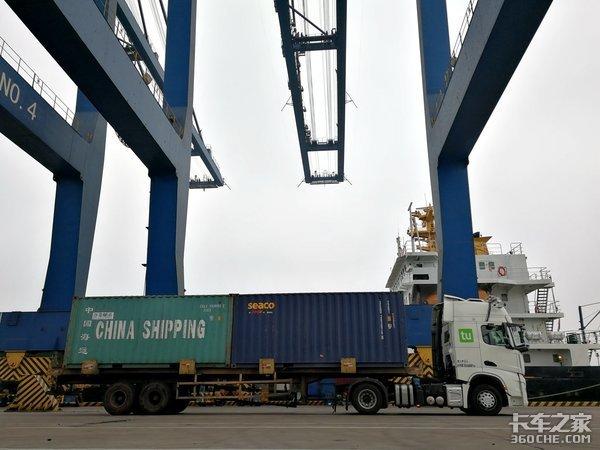 无人集卡车用北斗导航广州港新式智能码头两年后亮相