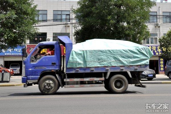 蓝牌轻卡空车都超载?提升总质量是关键