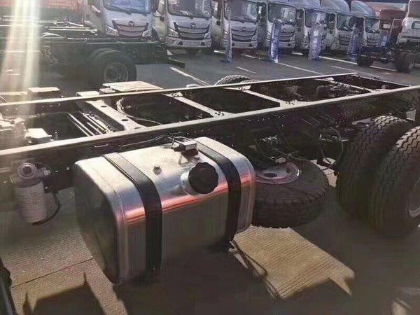 欧马可S5也出轻卡了,配2.2米外宽驾驶室还有重载底盘