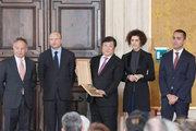 """总统见证,谭旭光荣获意大利""""莱昂纳多国际奖"""""""