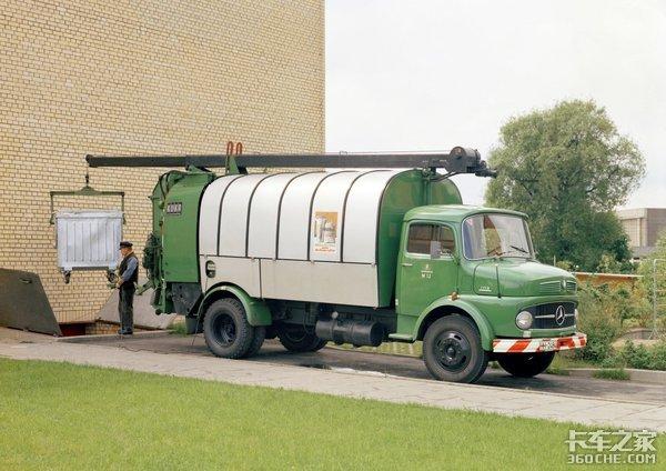 从1CN到新Actros回顾奔驰卡车百年史