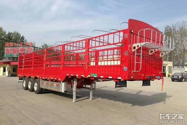 栏板、仓栅式挂车将强制装盘刹和气囊桥